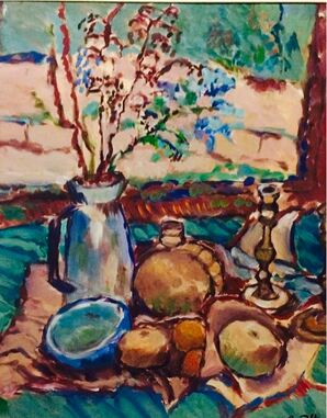 Expressionist Still Life Painting